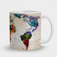 Кружка Карта мира