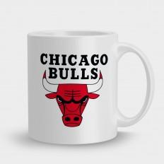 Chicagobullsна черном фоне