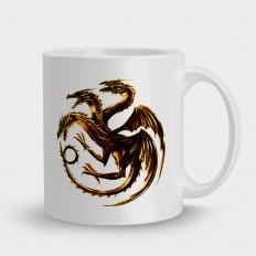 Game of Thrones Дейнерис и огненный герб