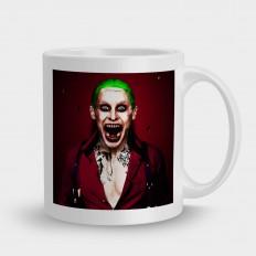 Suicidesquadна красном фоне Joker