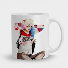 Harley Quinn (С фоном)
