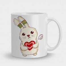 I love you кролик