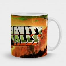 Gravityfallsтолько надпись лого
