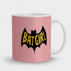 Кружка Бэтмен розовый