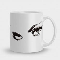 кружка глаза