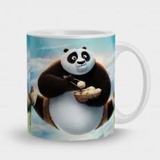 кружка кунг фу панда