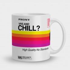 Кружка видеокассета chill